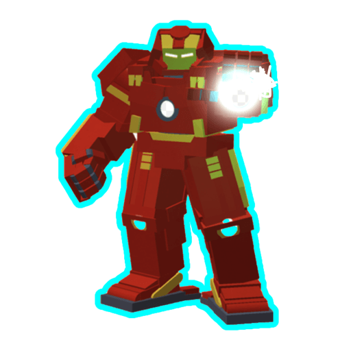 Roblox ironman - Sticker 12