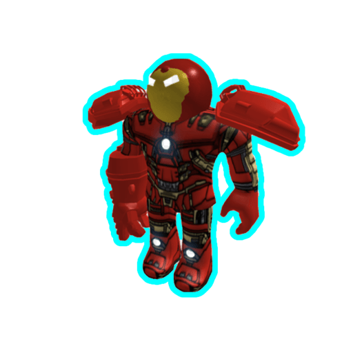 Roblox ironman - Sticker 7