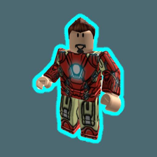 Roblox ironman - Sticker 11