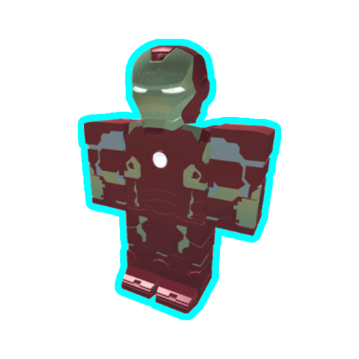 Roblox ironman - Sticker 2