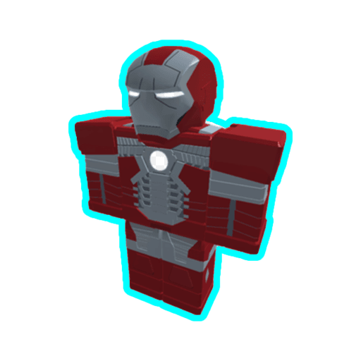 Roblox ironman - Sticker 3