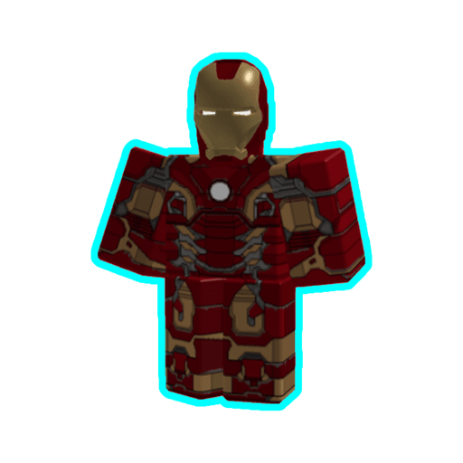 Roblox ironman - Sticker 4