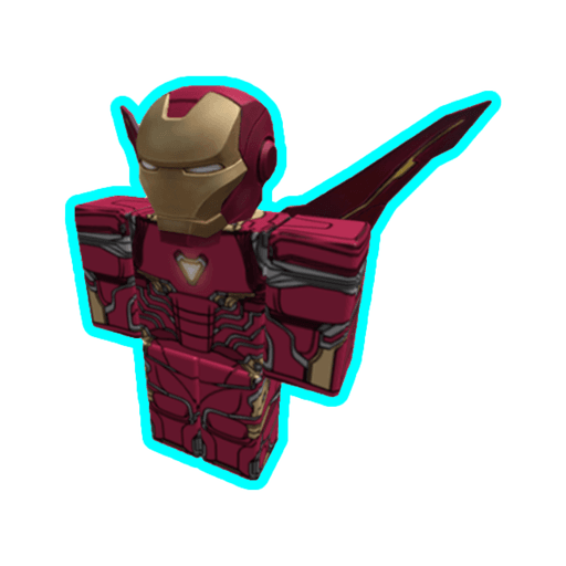 Roblox ironman - Sticker 9