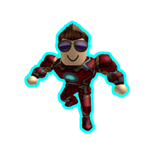 Roblox ironman - Sticker 5