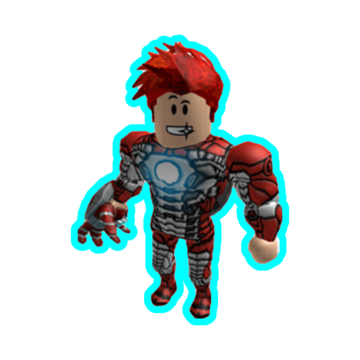 Roblox ironman - Sticker 10