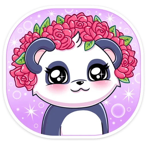 Panda Tori - Sticker 3