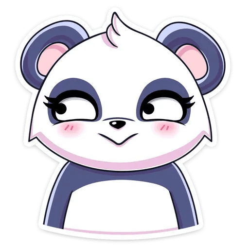 Panda Tori - Sticker 14