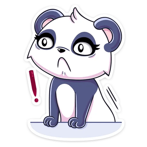 Panda Tori - Sticker 25