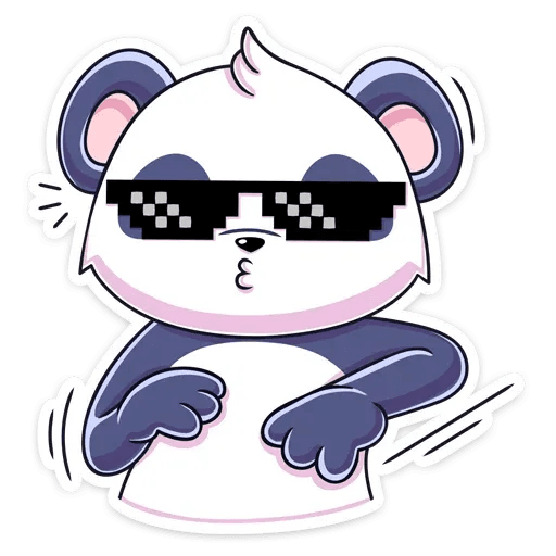 Panda Tori - Sticker 28