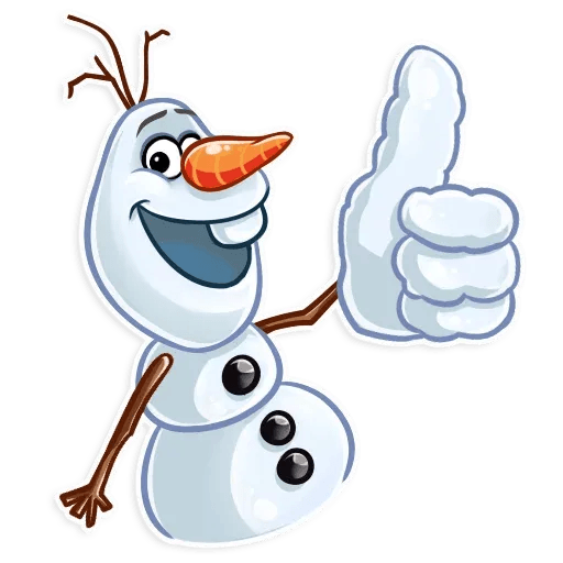 Olaf - Sticker 4