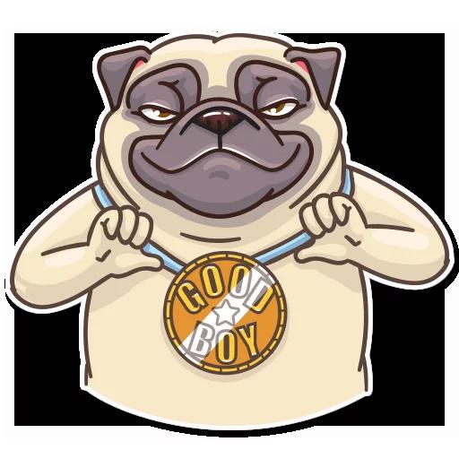 Pug Power - Sticker 19