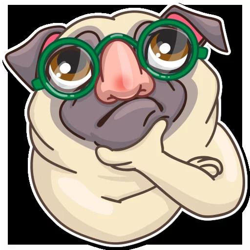 Pug Power - Sticker 9