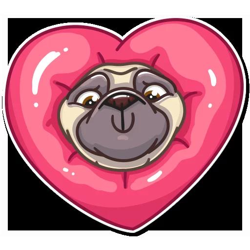 Pug Power - Sticker 10