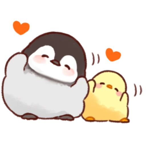 soft and cute chick 10 - Sticker 3