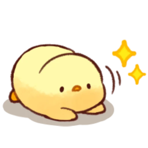 soft and cute chick 10 - Sticker 5
