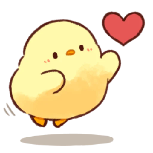 soft and cute chick 10 - Sticker 23