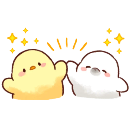 soft and cute chick 10 - Sticker 29