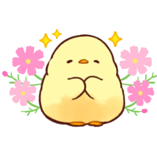 soft and cute chick 10 - Sticker 4