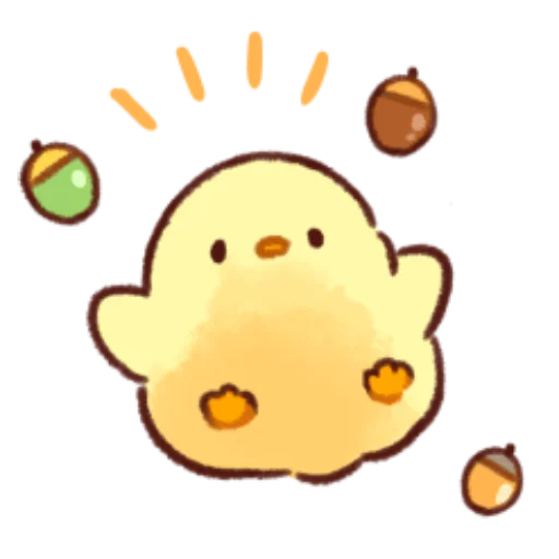 soft and cute chick 10 - Sticker 22