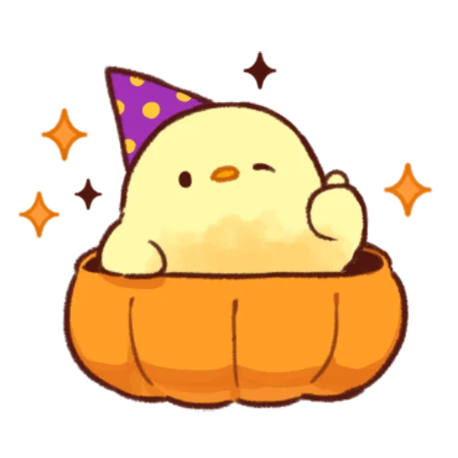 soft and cute chick 10 - Sticker 24