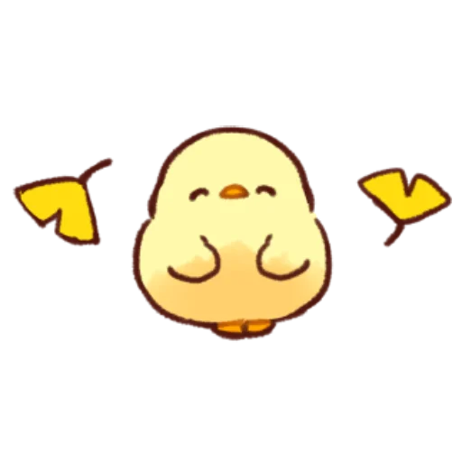 soft and cute chick 10 - Sticker 8