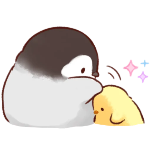 soft and cute chick 10 - Sticker 2