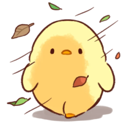 soft and cute chick 10 - Sticker 12