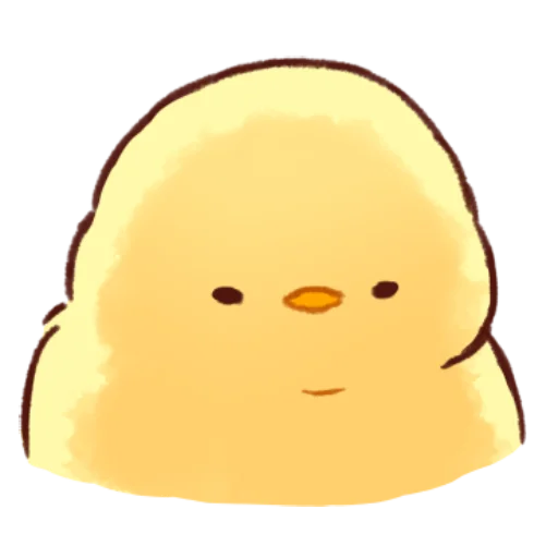 soft and cute chick 10 - Sticker 19