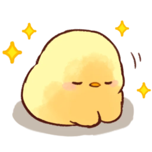 soft and cute chick 10 - Sticker 7