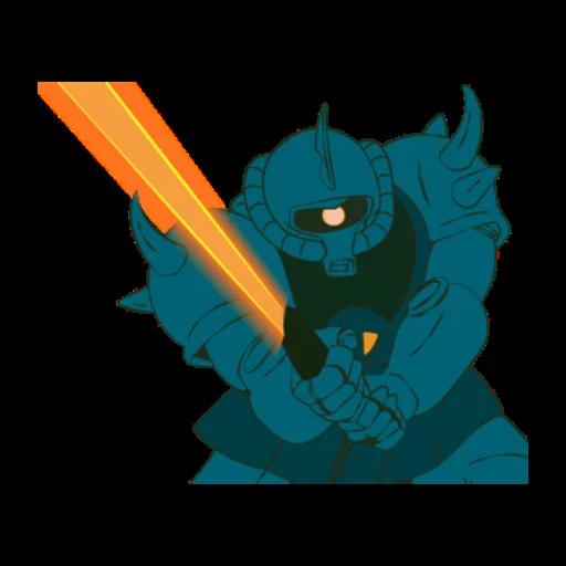 Gundam - Sticker 22