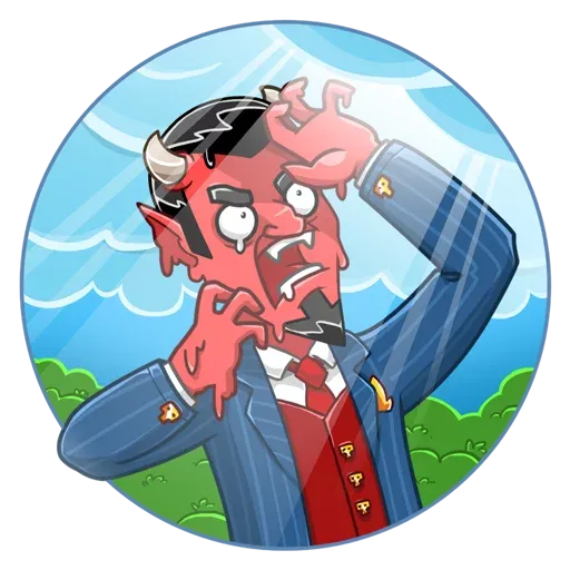 Devil - Sticker 3