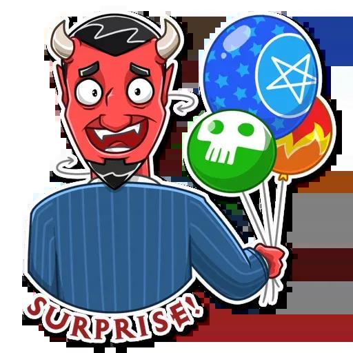 Devil - Sticker 21