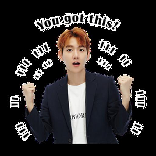 Exo - Sticker 2
