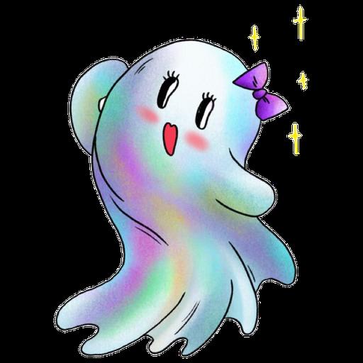 Rainbow Ghost - Sticker 9