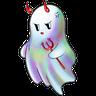 Rainbow Ghost - Tray Sticker