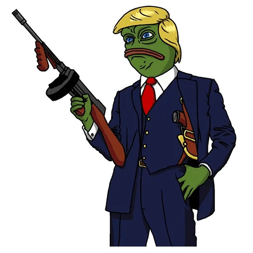 PePe Trump @kyprijan - Sticker 3