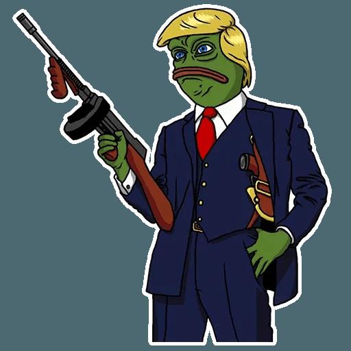 PePe Trump @kyprijan - Sticker 3