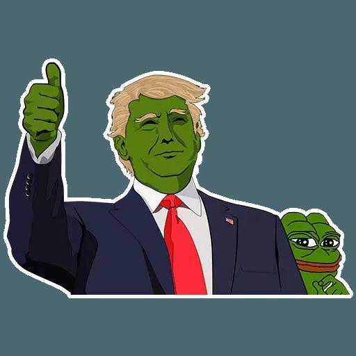 PePe Trump @kyprijan - Sticker 15
