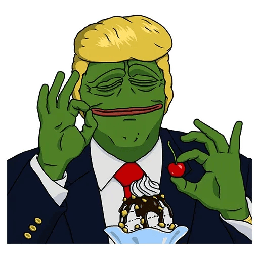 PePe Trump @kyprijan - Sticker 2