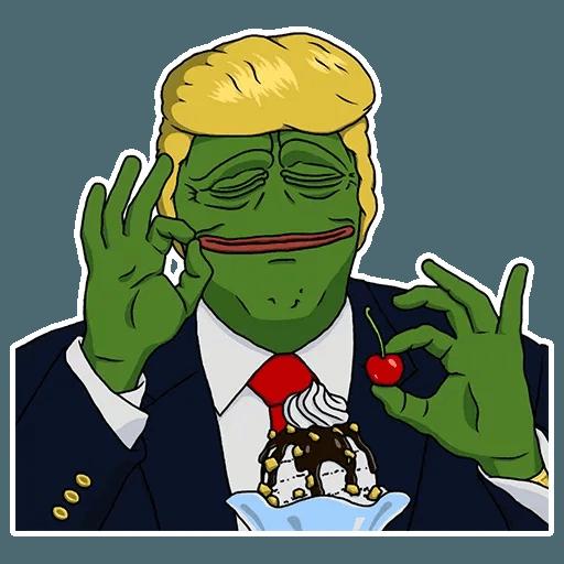PePe Trump @kyprijan - Sticker 2