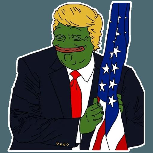 PePe Trump @kyprijan - Sticker 9