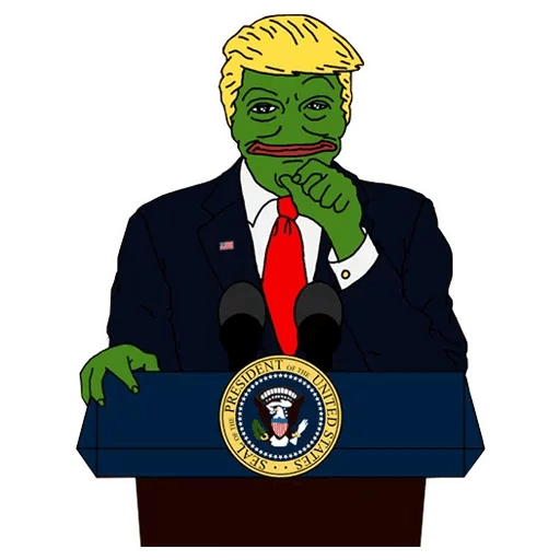 PePe Trump @kyprijan - Sticker 5