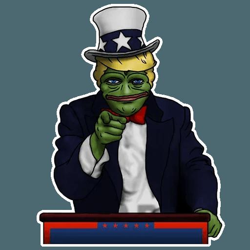 PePe Trump @kyprijan - Sticker 8