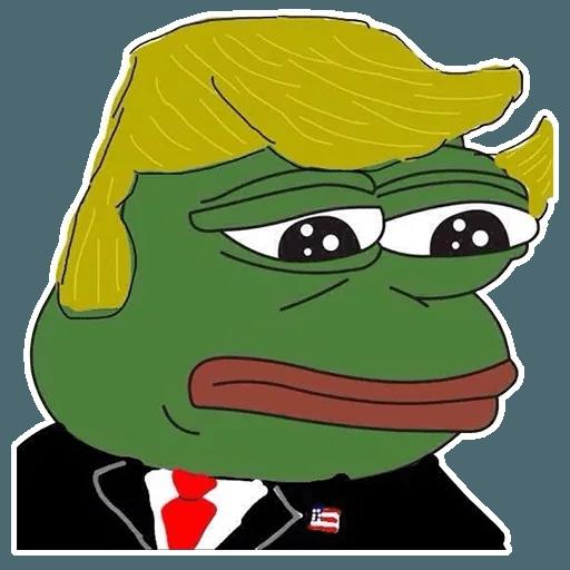 PePe Trump @kyprijan - Sticker 14