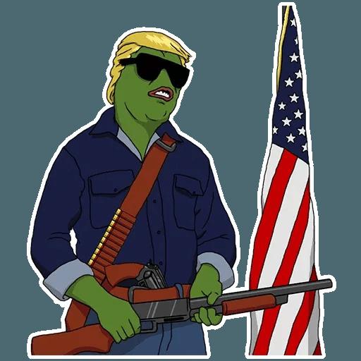 PePe Trump @kyprijan - Sticker 17