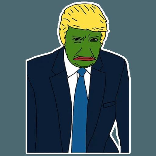 PePe Trump @kyprijan - Sticker 18