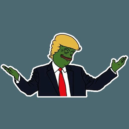 PePe Trump @kyprijan - Sticker 13