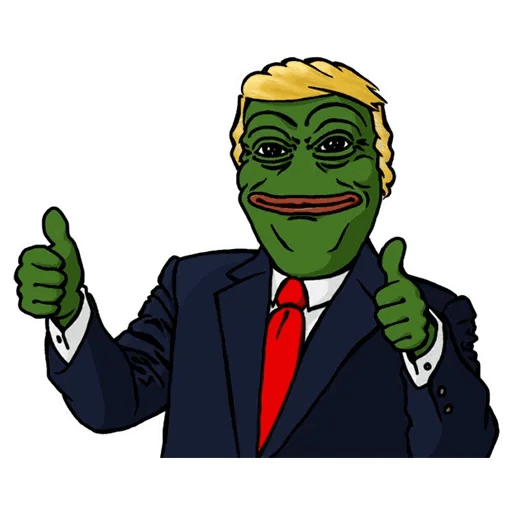 PePe Trump @kyprijan - Sticker 4