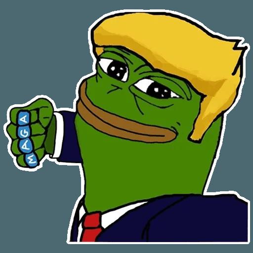 PePe Trump @kyprijan - Sticker 11
