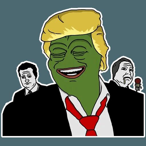 PePe Trump @kyprijan - Sticker 23